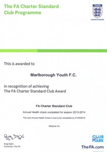 MYFC | FA Chartered Standard Club