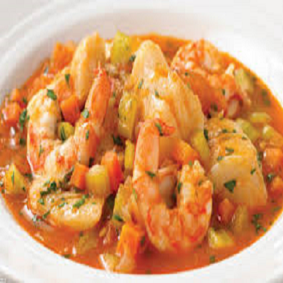 Fish and Prawn Stew