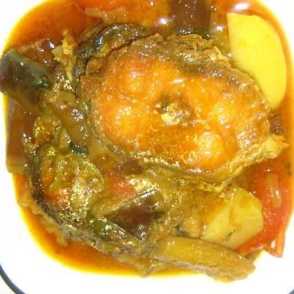 Potato Porridge with Fresh Cat Fish