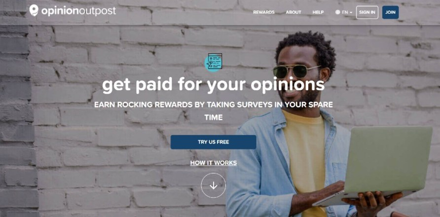 Opinion Outpost PayPal Stay at Home Survey - My Financial Hill