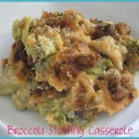 Broccoli Stove Top Stuffing Casserole