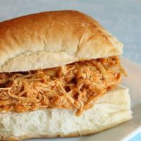 3 Ingredient Crockpot Buffalo Chicken