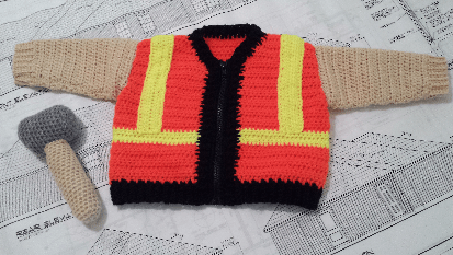 Baby Construction Sweater
