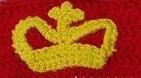 crown applique