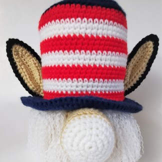Democrat Donkey Gnome Crochet Pattern