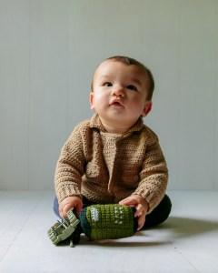 Baby marine sweater