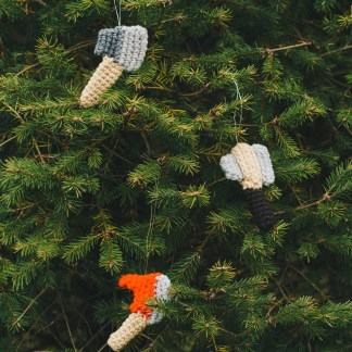 axe ornaments