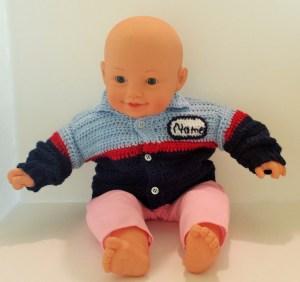 baby auto technician sweater
