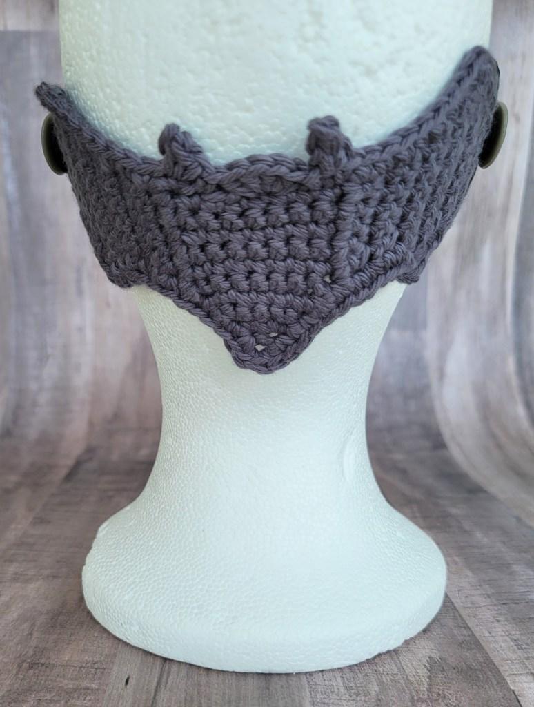 Bat Mask Mate Crochet Pattern