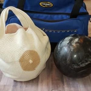Boob Bowling Ball Bag Crochet Pattern