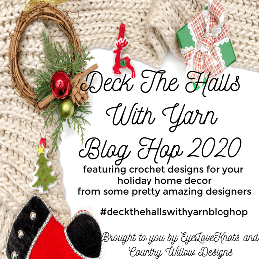 Deck the halls with yarn blog hop 2020