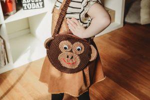 Baby gorilla purse