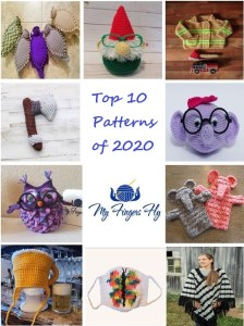 Top 10 Crochet Patterns of 2020