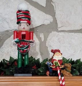 Crocheting Nutcracker Figurine Pattern - DIY Christmas Gift