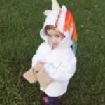 Children's Unicorn Hoodie Crochet Pattern, Sizes 4, 6, and 8