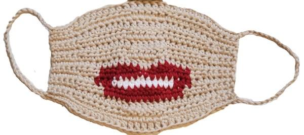 Lips Face Mask Crochet Pattern