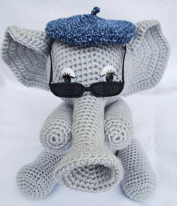 Miles the Jazzy Elephant Crochet Pattern