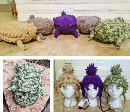 Texas Horny Toad Crochet Patterns Ebook