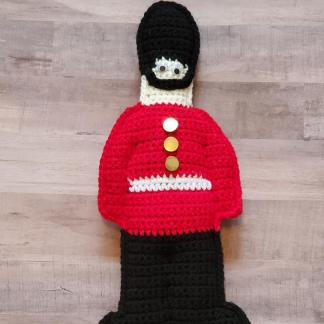 Toy Soldier Cuddler Crochet Pattern