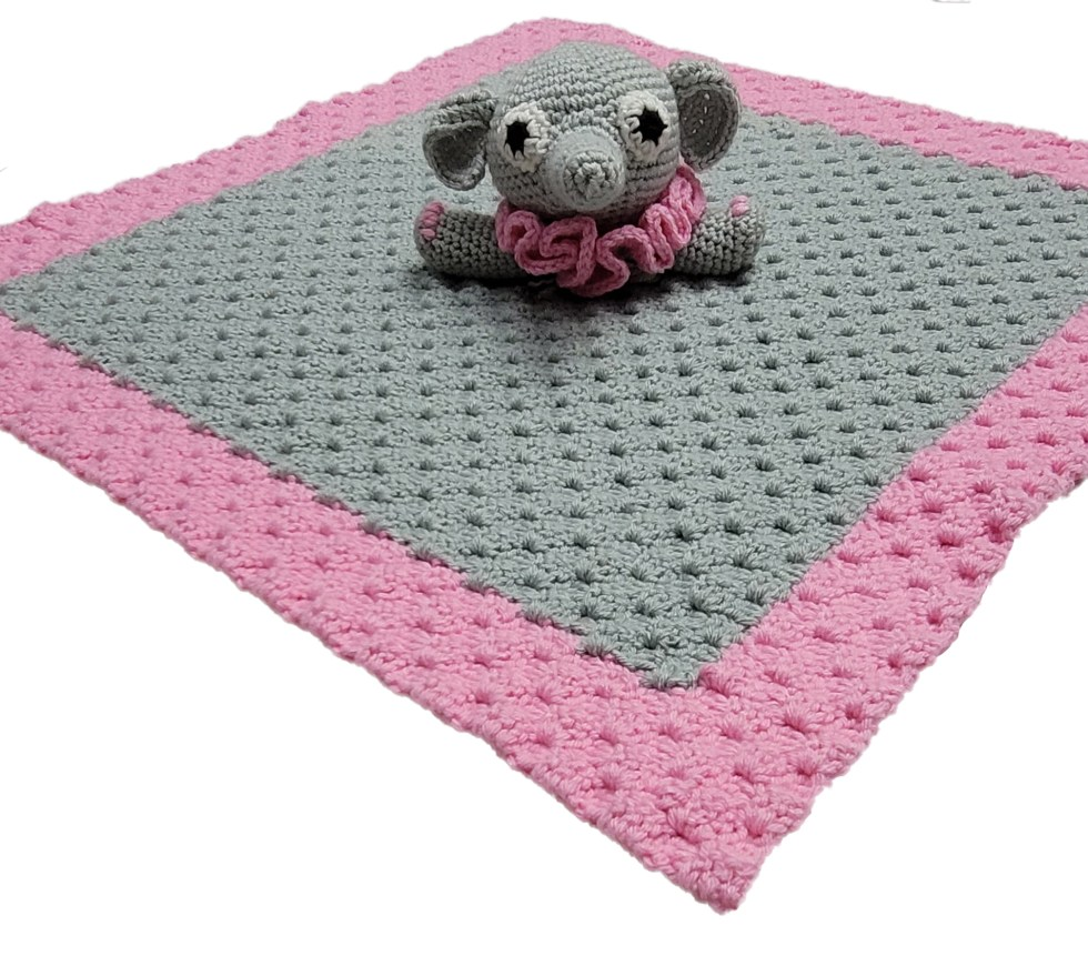 elephant lovey crochet pattern