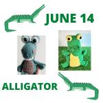 alligator crochet pattern