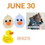 bird crochet patterns