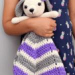 puppy lovey crochet
