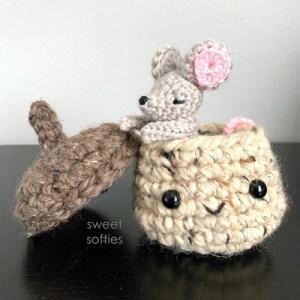 mushroom crochet pattern