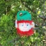 Bearded Elf Christmas Ornament