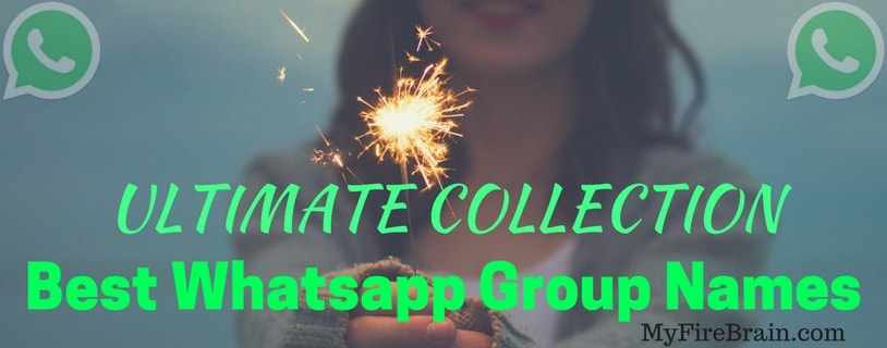 Ultimate Collection ]⚡Best Whatsapp Group Names 2019