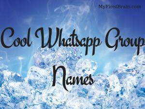 Ultimate Collection ]⚡Best Whatsapp Group Names 2019⚡( Cool, Funny