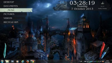 Rainmeter skins for windows 10