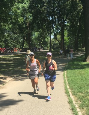 in Central Park, NYC