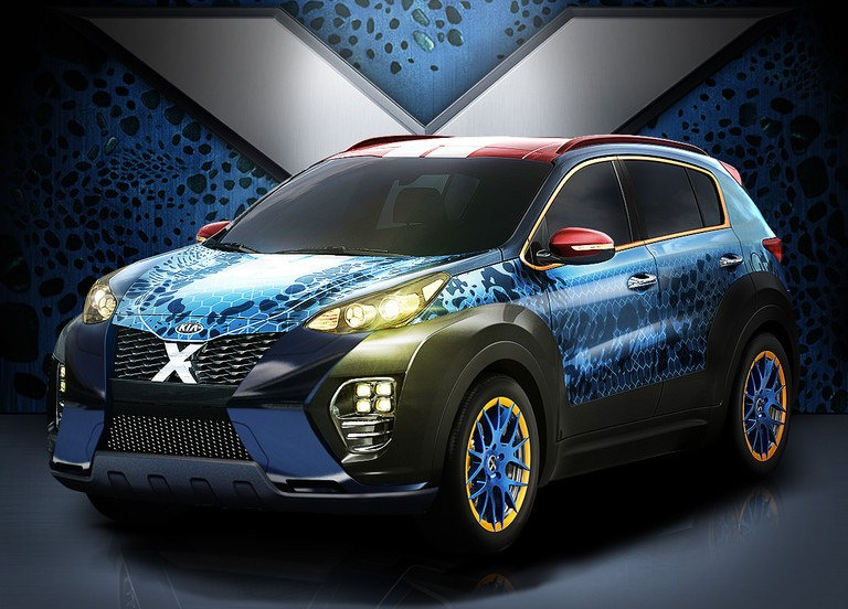 Does the X-Men Inspired Kia Sportage Have Superpowers, too?