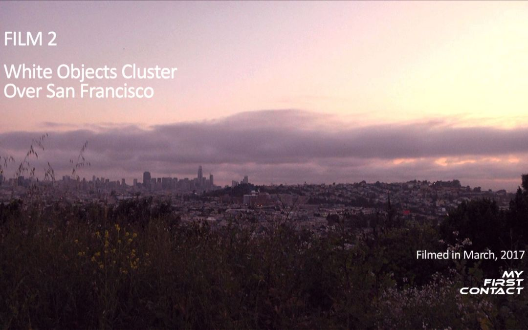 Film 2: White Objects Cluster Over San Francisco