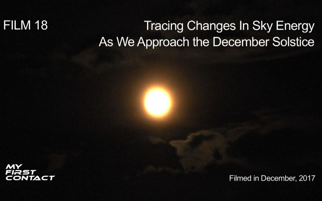 Tracing Changes In Sky Energy As We Approach the December Solstice