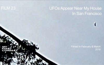 FILM 23—UFOs Appear Near My House In San Francisco