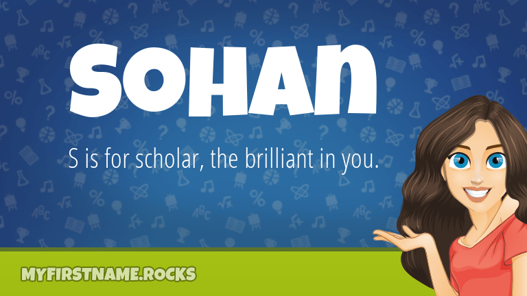 Sohan First Name Personality Popularity