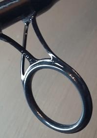 Canne - Détail anneau de départ
