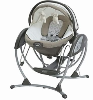 Graco Soothing System Gliding Baby Swing