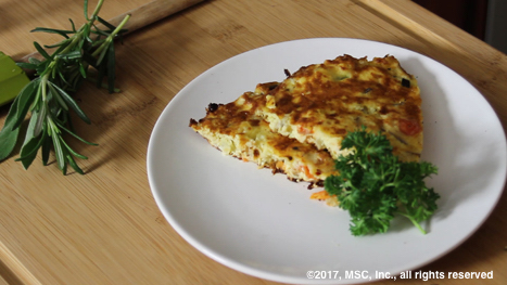 vegetable frittata - e13