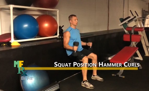 EOW Squat Hammer Curls