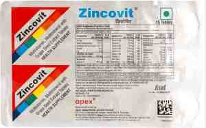 Zincovit tablet uses in Hindi