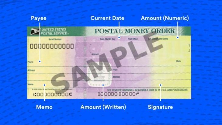 money order check