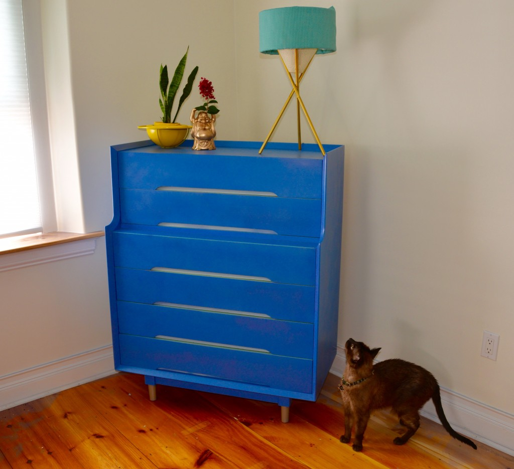 MyFixitUpLife - Habitat for Humanity ReStore Dresser - After Restore Makeover