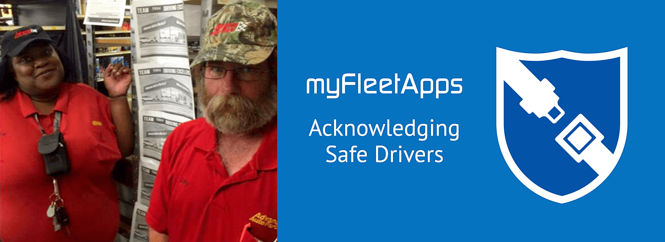 acknowledging driver safety