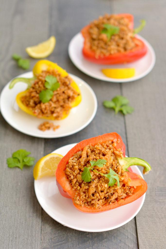 Spicy Thai Cauliflower Rice