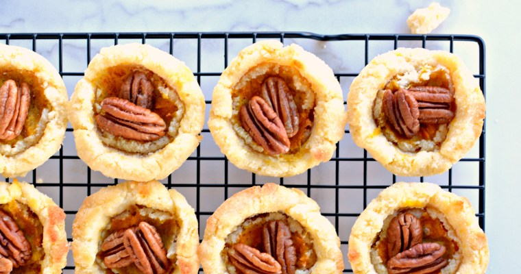 Easy Pumpkin Pie Tarts: Like Pumpkin Pie Only Cuter!