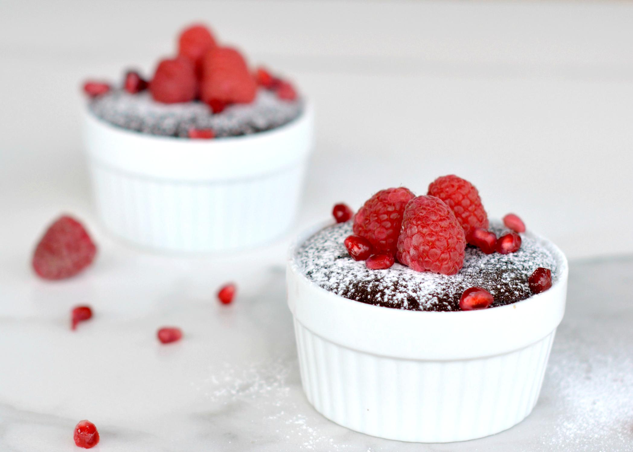 Flourless Chocolate Cakes: Treat Yo'self!