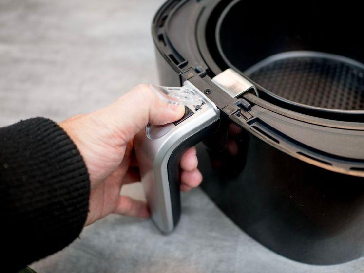 Massey 4L智能無油煙氣炸鍋MAS-401,點心烘培、煎炸烤一機搞定